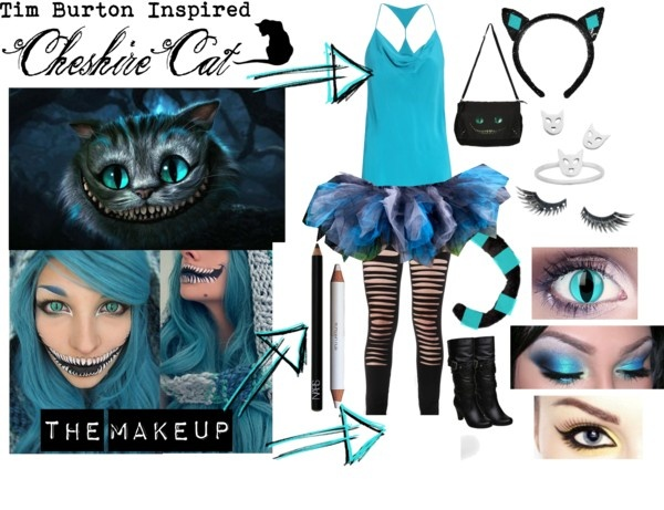 tim burton cheshire cat costume ideas super cool for halloween for all those alice in wonderland lovers - Cat Costume Ideas Halloween