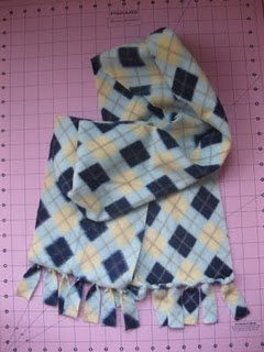 how to make a no sew muslin scarf