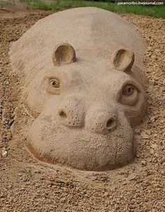 easy sand sculptures for kids - Google Search