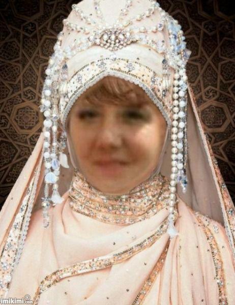 Beauty In Wedding Hijab