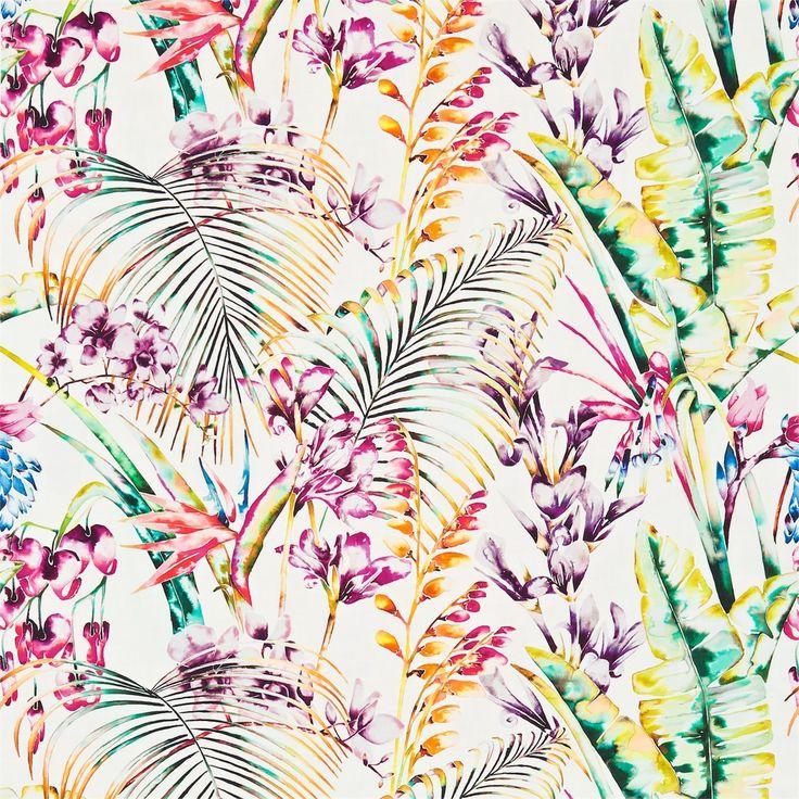 Harlequin - Designer Fabrics and Wallcoverings | Products | British/UK Fabrics and Wallpapers | Paradise (HAMA120351) | Amazilia Fabrics