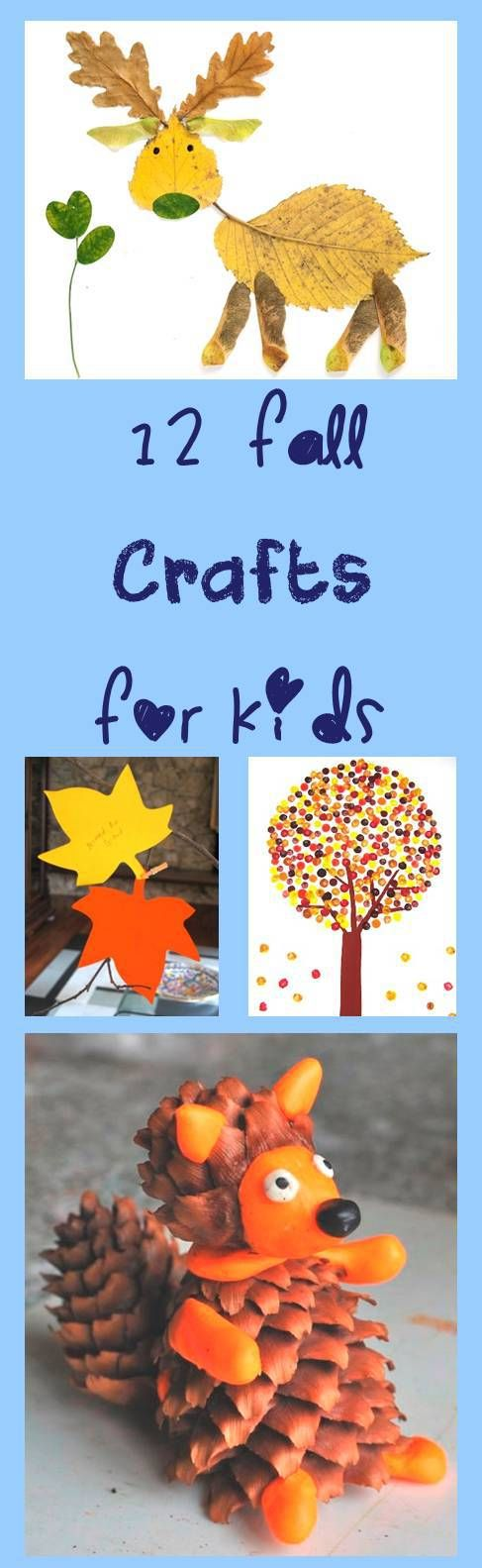 12 Fall Kids Crafts cheerandcherry