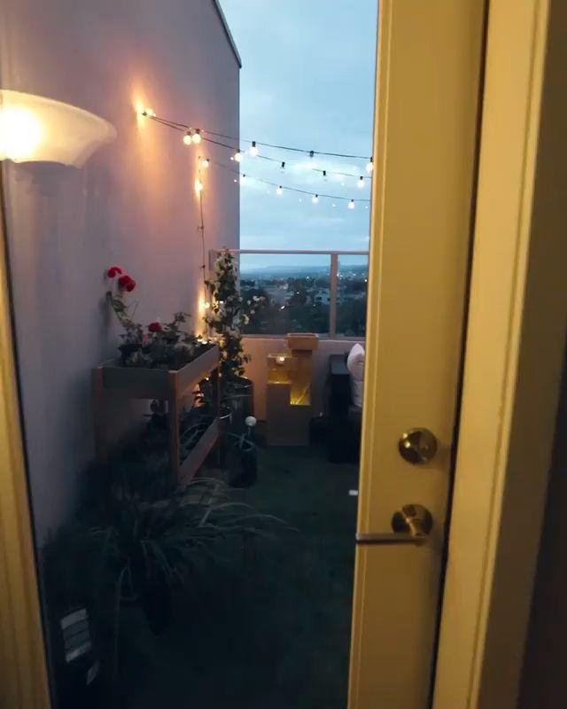 Dream cozy balcony