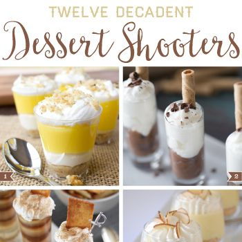 Desserts in a shot glass are cute and classy, and dessert shooters are more fun than full-sized treats. These dessert shooter recipes will wow your guests!