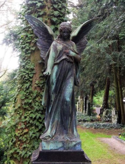 Engel auf Melaten, Foto: S. Hopp