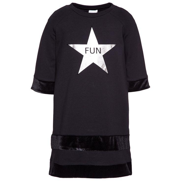Платье из джерси со звездами Девочка, Shop Online   MonnalisaПлатье из джерси со звездами, Девочка, Интернет-магазин   Monnalisa