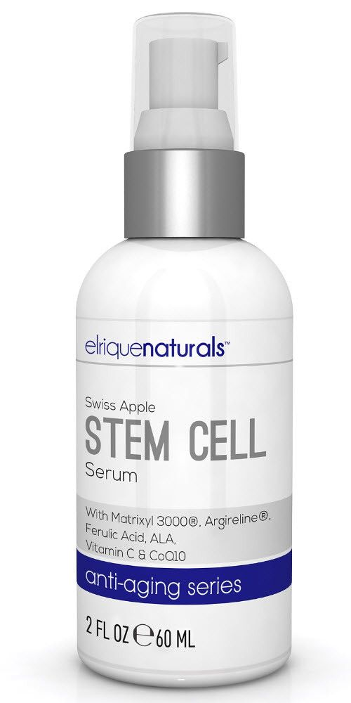 Apple Stem Cell Serum. The Swiss Apple's extract revitalizes stem cells - recharging the cell - turning it into an anti-aging acting powerhouse. - improves crow's feet - provides the skin with an over