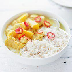 Curry z kurczaka i mango | Kwestia Smaku