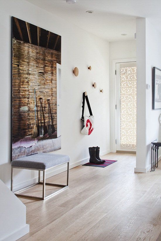 Eclectic Modern Entryway