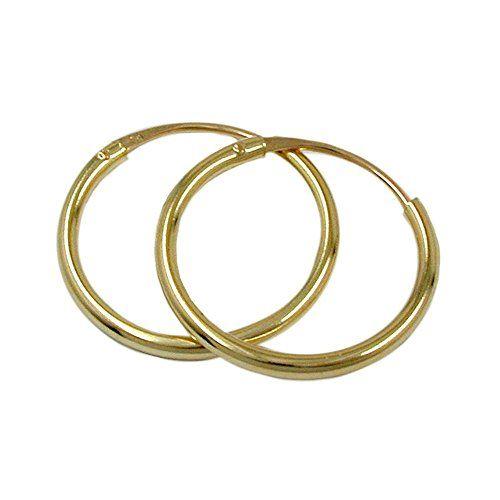 Creole, 15mm, glänzend, 9Kt GOLD Dreambase http://www.amazon.de/dp/B00L59QMKC/?m=A37R2BYHN7XPNV