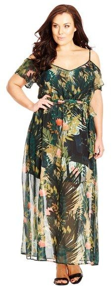 Country chic dresses plus size