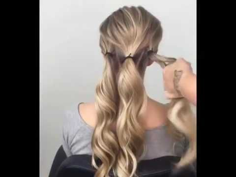 Tutorial sanggul rambut - YouTube