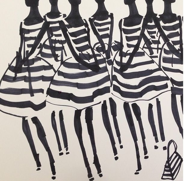 @DonaldDrawbertson - love this artist - Stripes:)