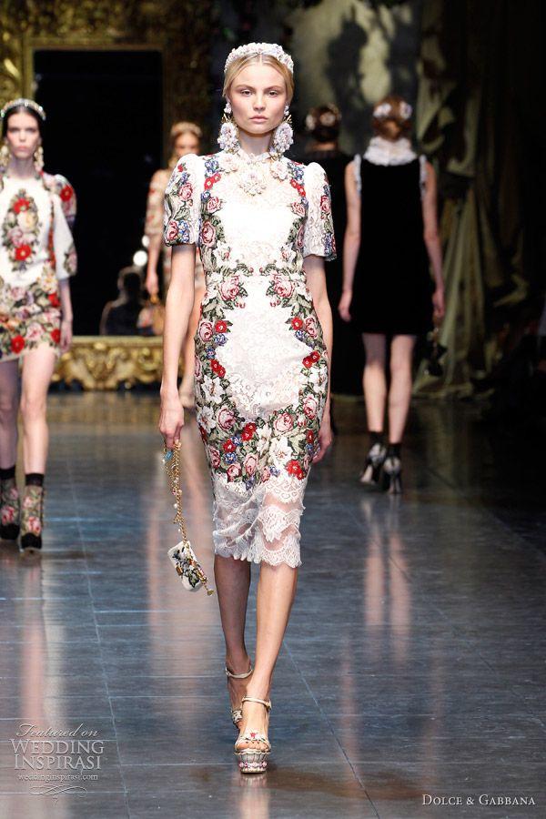 dresses dolce & gabbana 2013