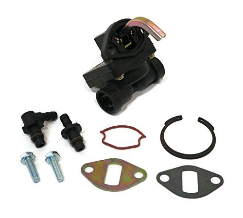 FUEL PUMP for John Deere L110 LT133 LT155 LX255 GT225 Lawn Mower Garden Tractors by The ROP Shop  New FUEL PUMP Kit  For John Deere L110 LT133 LT155 LX255 GT225 Lawn Mower Garden Tractors  Replaces: 12 559 02-S, 12 559 01, 12 559 01-S, & 12 393 03  Replaces: AM133627  Quality Aftermarket Part with 1 Year Warranty