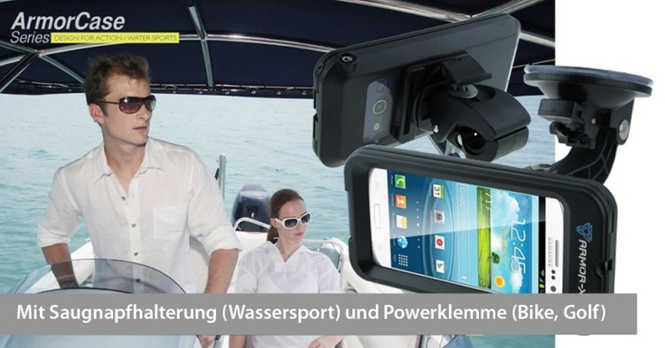 Armor-X Case für iPhone 5 / 4S / 4 und Samsung Galaxy S3, Set|Preis:$86.64|www.3sails.eu