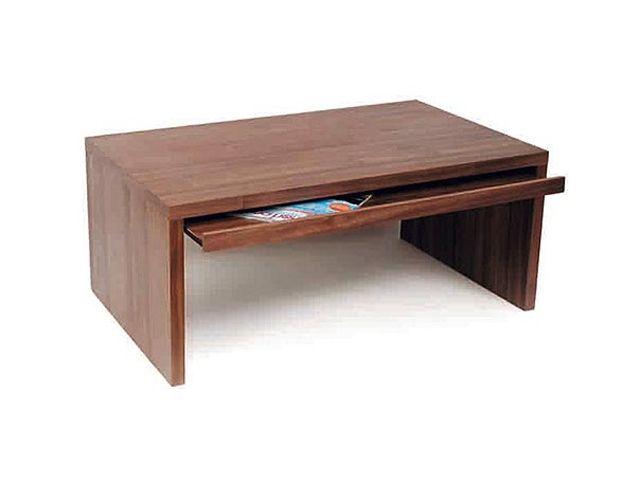 ELSA Soffbord med låda 118 Valnöt i gruppen Inomhus / Bord / Soffbord hos Furniturebox (100-10-17789)