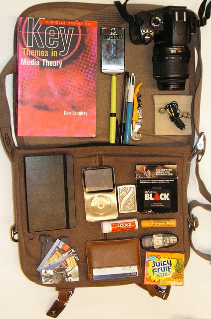 what's in my bag? by michelle.brownridge, via Flickr
