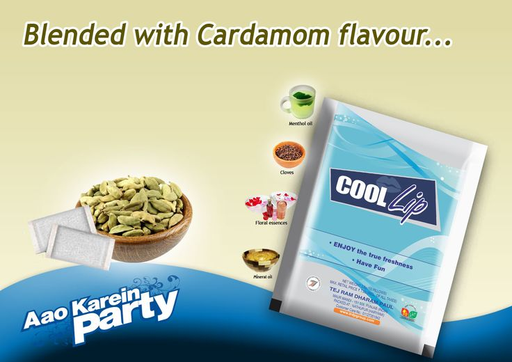 Enjoy the Freshness of Cardamom with ‪#‎Coollip‬ ‪#‎coollipmouthfreshner‬