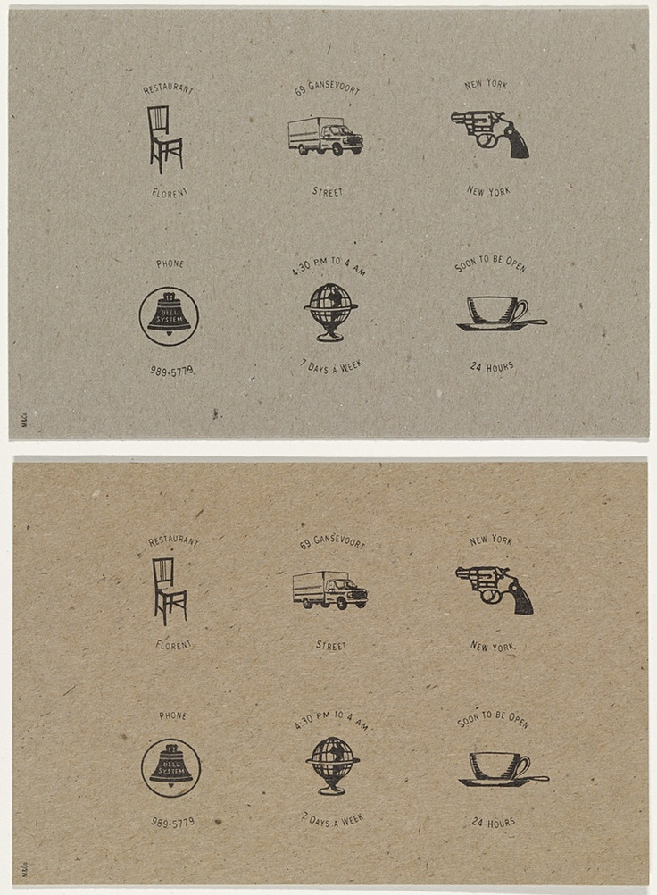 tibor kalman icons for florent