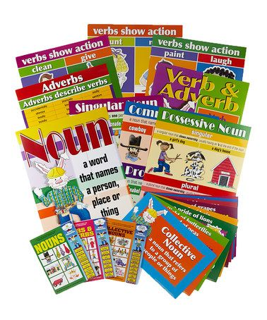 This Grammar Book & Chart Set 2 is perfect! #zulilyfinds