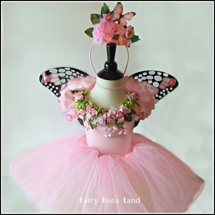 childrens fairy princess costume | Fairy Costume - Children's size 6/8 - Flower Girl - Fairy Princess ...