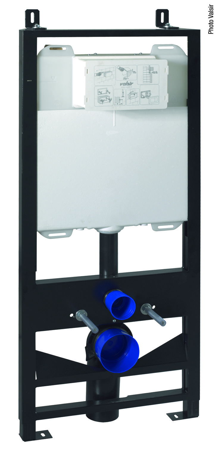 Valsir Tropea3 Flush Cistern / Cassette di Risciacquamento