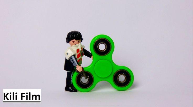 Ich habe ein neues Video, indem ich zeige was passiert, wenn ein Fidget Spinner auf eine PLAYMOBIL® Figur trifft. Schaut euch das Video an und viel Spaß! I have a new video, while I show what happens, if a Fidget Spinner meet a PLAYMOBIL® Figur. Checkt the video out and have fun!  #playmobil #FidgetSpinner #StopMotion #KiliFilm