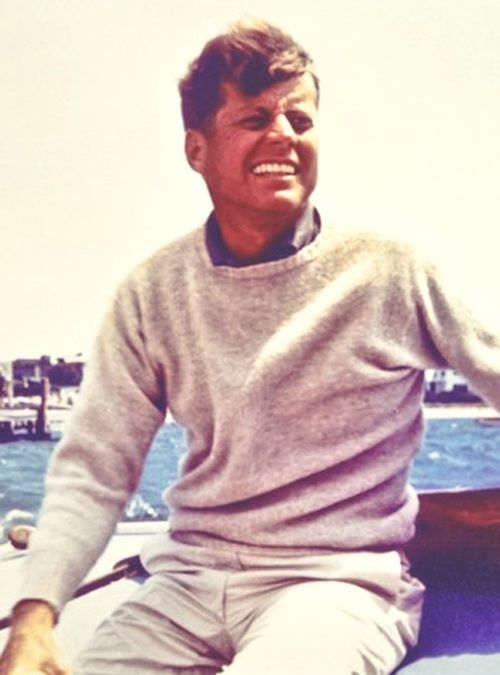 JFK- I know this is weird. . . But I just really enjoy him. . . Haha #waywayoldermen