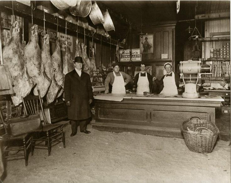 Butcher Shop c.1900