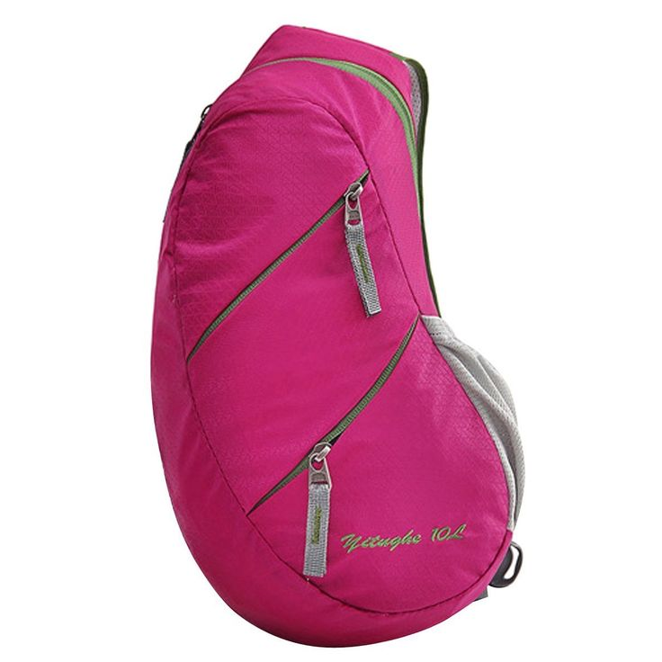 Fashion Chest Bag Nylon Sport Outdoor Shoulder Sport Casual Men Waist Bags Waterproof Crossbody Hot Purse ** Stop everything and read more details here! : Womens hiking backpack