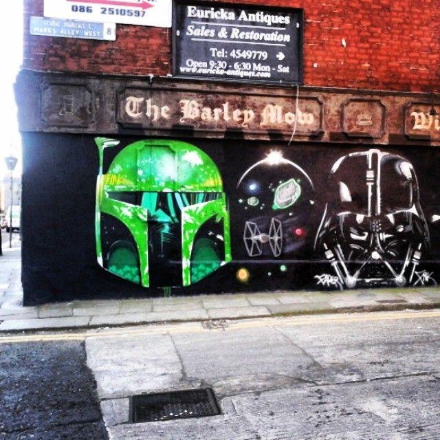 Use the force - Francis St, Dublin