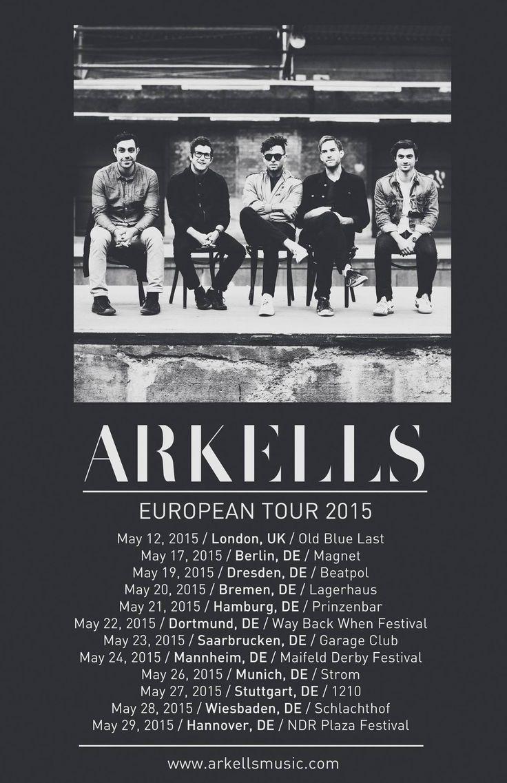 Arkells European Tour 2015