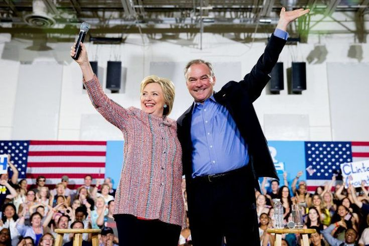 "Hillary Clinton announced Friday that she has picked Sen. Tim Kaine of Virginia as her running mate, making a safe, centrist choice that will likely disappoint some in the progressive wing of her party.  ""I'm thrilled to tell you this first: I've chosen Sen. Tim Kaine as my running mate,"" Clinton wrote"