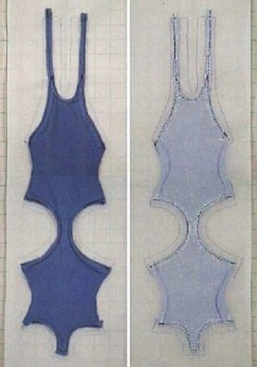23a475ee6 Mira como hacer trajes de baño paso a paso con patrones