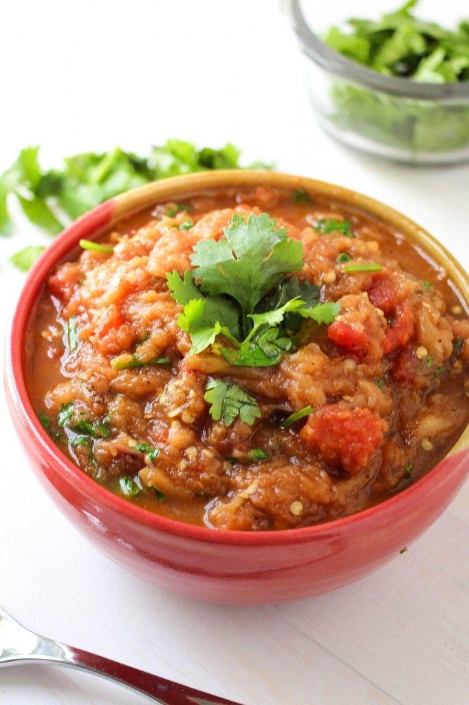 Smoky And Spiced Eggplant Mash Recipe — Dishmaps