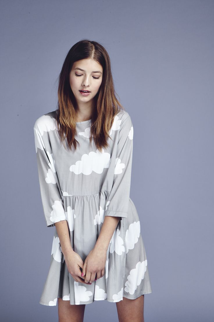 Lazy Oaf Cloudy Dress   http://www.lazyoaf.com/lazy-oaf-cloudy-dress-2