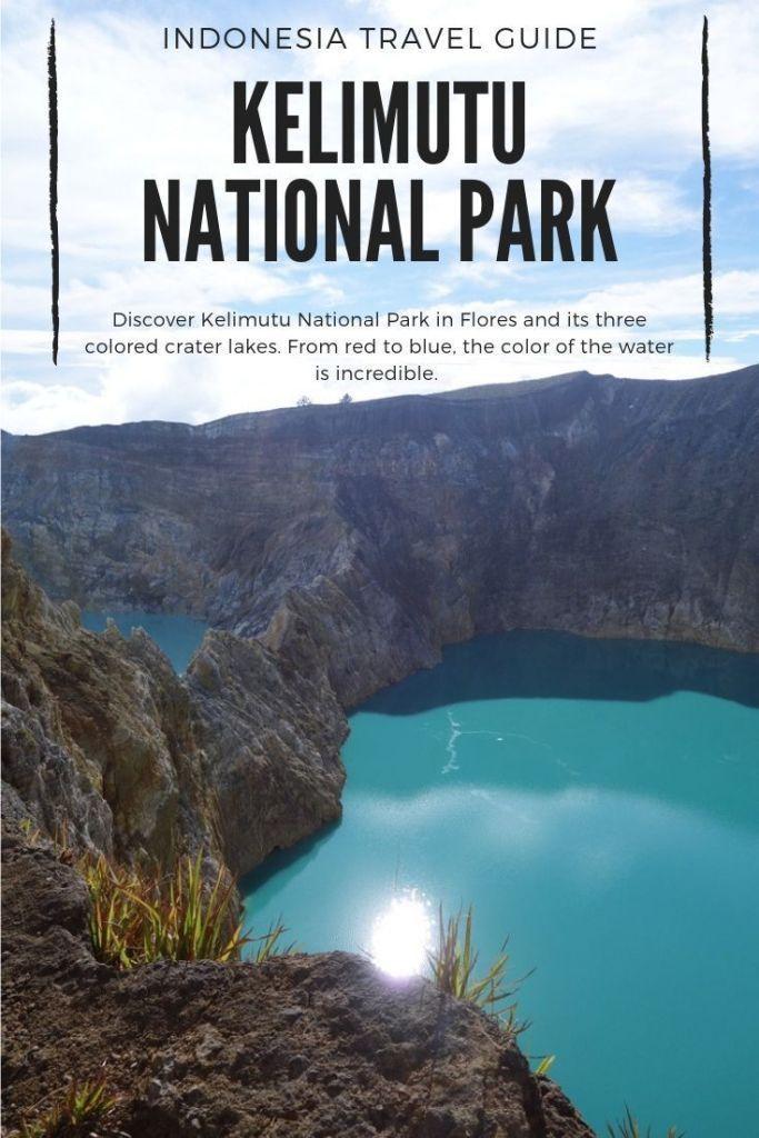 Kelimutu National Park: Color changing lakes