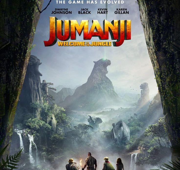 Dwayne Johnson livre la marchandise dans les nouvelles bandes-annonces de Jumanji: Welcome To The Jungle.