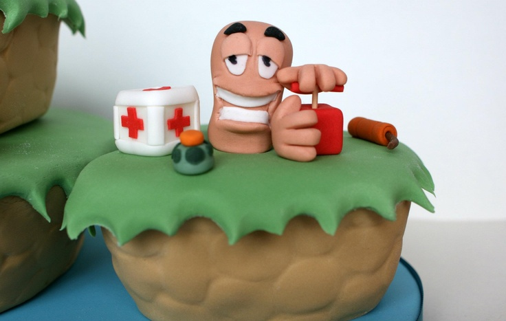 Worms Armageddon Cake
