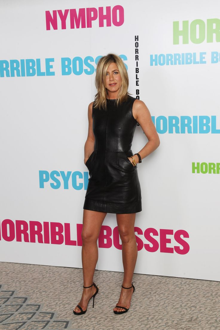Jennifer Aniston Promotes 'Horrible Bosses' in London