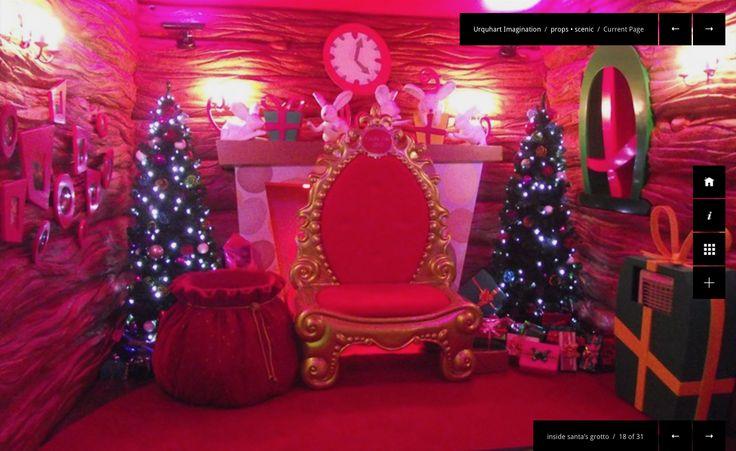 Santas grotto / fireplace