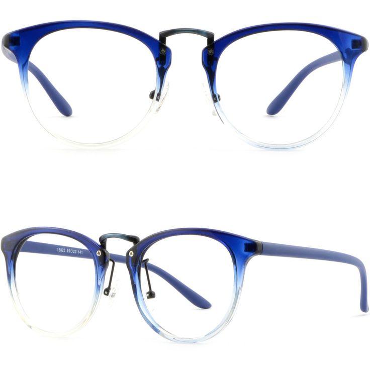 Womens Men Light TR90 Frame Prescription Glasses Photochromic RX Sunglasses Blue #Unbranded