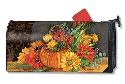 Mailwrap - Autmn Tapestry - Large Mailbox Cover by MailWraps >  LARGE MailWrapsÃ'® magnetic mailbox cover;Made in the USA;Fits LARGE mailbox measuring 8 x 22;Attaches to metal mailboxes with magnetic strips. Adapter kit for non metal mailbox sold sep... Check more at http://farmgardensuperstore.com/product/mailwrap-autmn-tapestry-large-mailbox-cover-by-mailwraps/