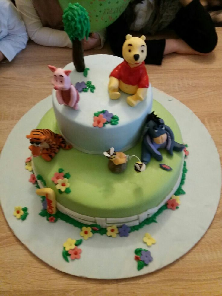 Torta winnie the pooh, yhoo, pimpi, tigre, winni the pooh cake, boy, one year, tiger, fondant cake