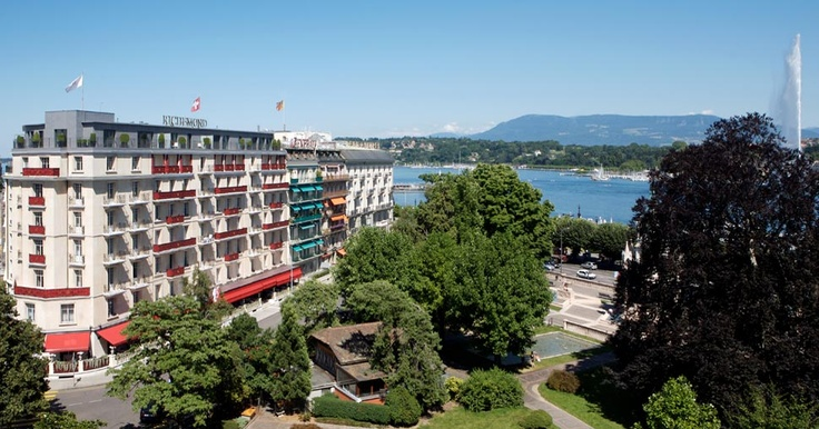 Le Richemond Luxury Hotels Geneva, 5 Star Hotels in Geneva Switzerland, Top Hotel in Geneva
