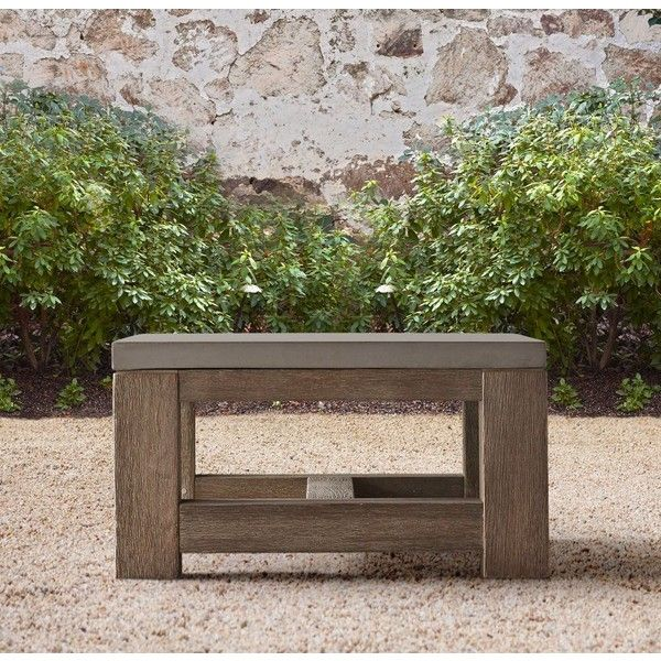 French Beam Teak Coffee Table: Best 25+ Concrete Outdoor Table Ideas On Pinterest