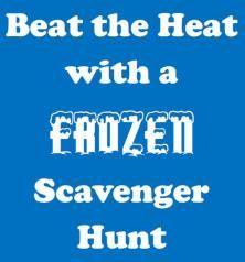 Frozen Scavenger Hunt