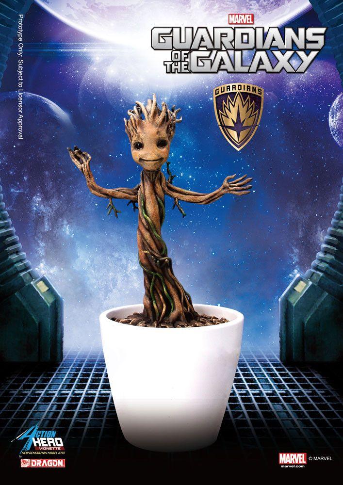 Guardians of the Galaxy Action Hero Vignette 1/9 Baby Groot 18 cm  Guardians of the Galaxy - Groot - Hadesflamme - Merchandise - Onlineshop für alles was das (Fan) Herz begehrt!