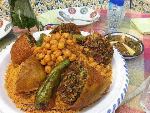 78 best images about cuisine tunisienne on pinterest for Cuisine tunisienne